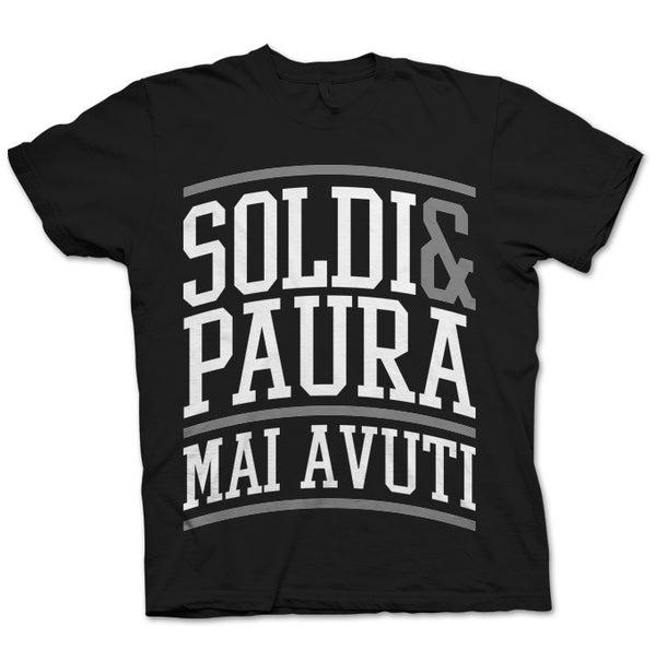 SOLDI & PAURA MAI AVUTI TSHIRT - HONIRO STORE