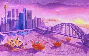 Image of Example Print 'Sydney Harbour - Australia'