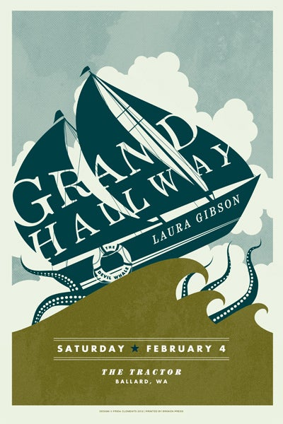 Image of Grand Hallway Poster