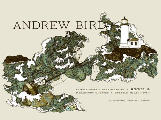 Image of Andrew Bird Poster