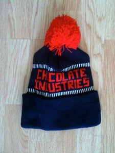 Image of Chocolate Industries Red, Blue and white Beanie