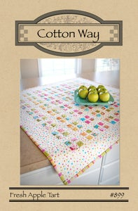 Image of Fresh Apple Tart - Paper Pattern #899