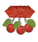Image of Cherry brooch