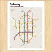 Image of Austin Subway Map