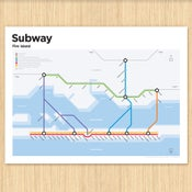 Image of Fire Island Subway Map