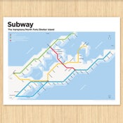Image of The Hamptons Subway Map