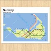 Image of Nantucket Subway Map