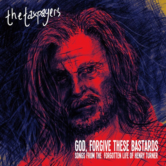 Image of The Taxpayers - God Forgive These Bastards LP + BOOK