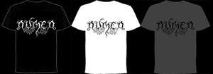 Image of NEW!!!!!!! Numen logo T-shirt (Black/White/Grey)