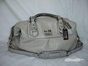 Image of Authentic Gray Coach Sabrina Bag