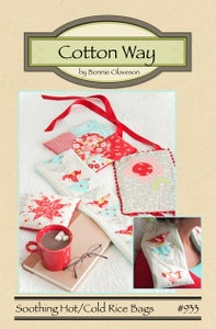 Image of Soothing Hot/Cold Rice Bags - PDF Pattern #933