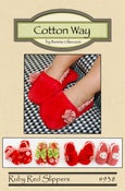 Image of Ruby Red Slippers - Paper Pattern #938
