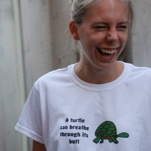 Image of A turtle can breath through its butt