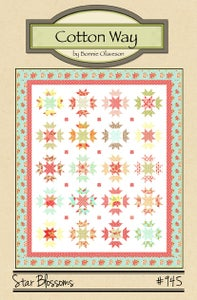 Image of Star Blossoms - Paper Pattern #945
