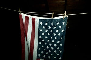 Image of American Flag photograph print by Ryan Russell