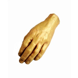 Image of MANWOLFS 24K SOLID GOLD HAND