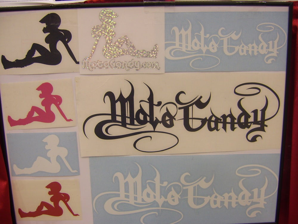 Image of Motocandy Silhouette Decal