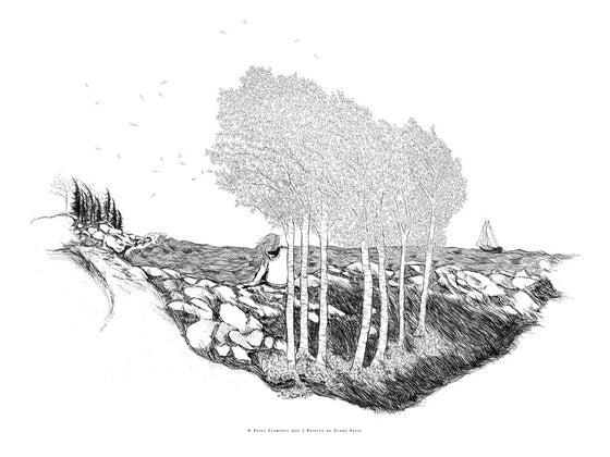 Image of Salty Seas & Birch Trees