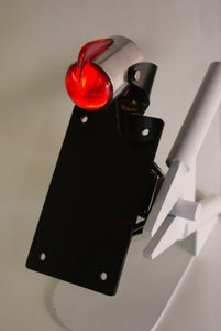 Image of Art Deco Finned Taillight