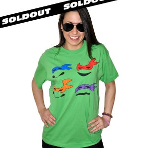 Image of Ninja Turtles Tee (Unisex)