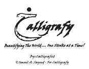 Image of Calligrafy Logo