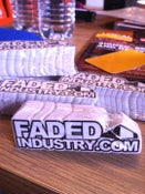 Image of FadedIndustry.com Die Cut Stickers
