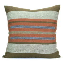 Image of SABA CHIEF PILLOW persimmon | mole