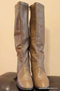Image of Joyce California Leather Boots - 7