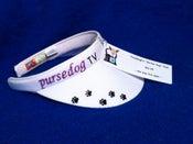 """Image of PurseDogTV """"Glitter Dog"""" Visor"""