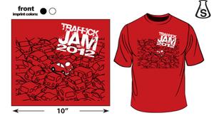 Image of TRAFFICK JAM 2012 TEE