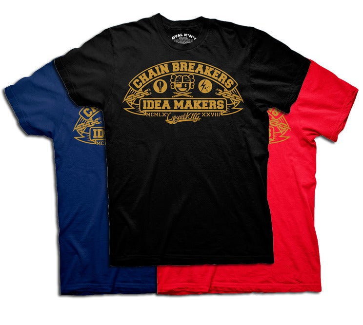 Image of Chain Breakers x Idea Makers (Black/Navy/Red)