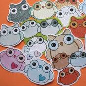 Image of Kawaii Owl Stickers