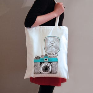 Image of Diana Camera Tote Bag