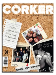 Image of CORKER Magazine Issue 1: Autumn 2008 (PRINT EDITION)