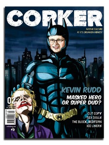 Image of Corker Magazine Issue 2: Winter 2008 (PRINT EDITION)