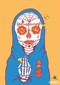 Image of Dia De Los Muertos Print