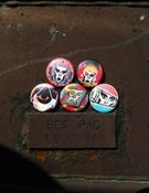 "Image of Set of five 1"" Buttons!"