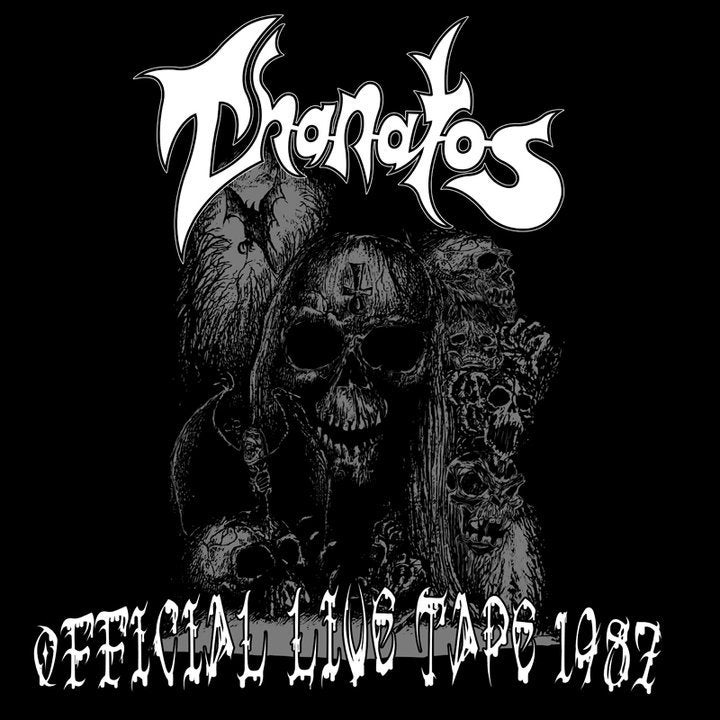 Image of THANATOS - OFFICIAL LIVE TAPE 1987 CD