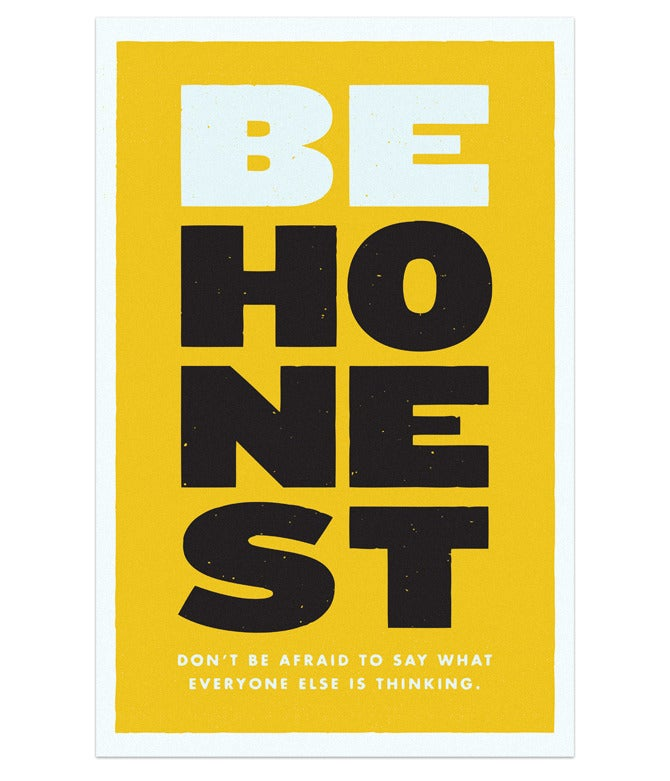 Image of Be Honest