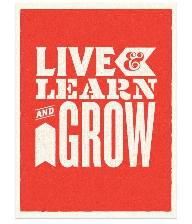 Image of Live, Learn & Grow