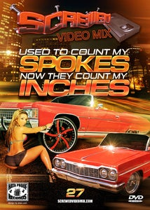 Image of Screwed Video Mix Vol 27 - Used To Count My Spokes