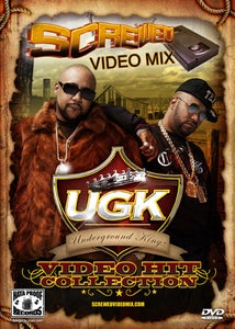 Image of Screwed Video Mix - UGK Video Hits Collection