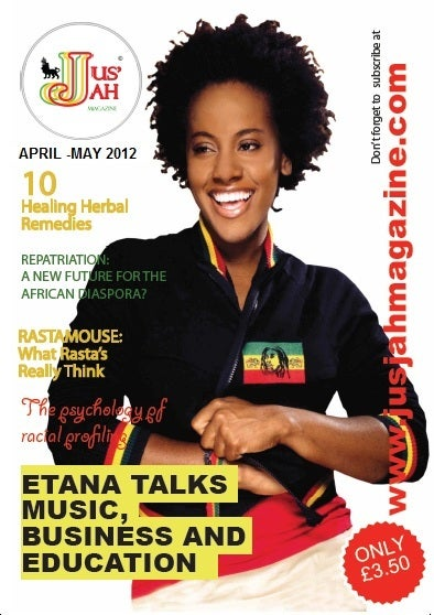 Image of Jus Jah Magazine Issue 2 (April-May 2012)