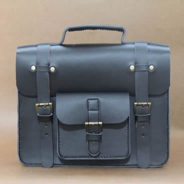 "Image of Vintage Handmade Artisan Genuine Leather Briefcase Satchel Messenger 11"" MacBook Bag / Case (m34-2)"