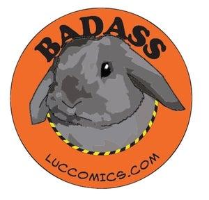 Image of Baddass Bunny Sticker