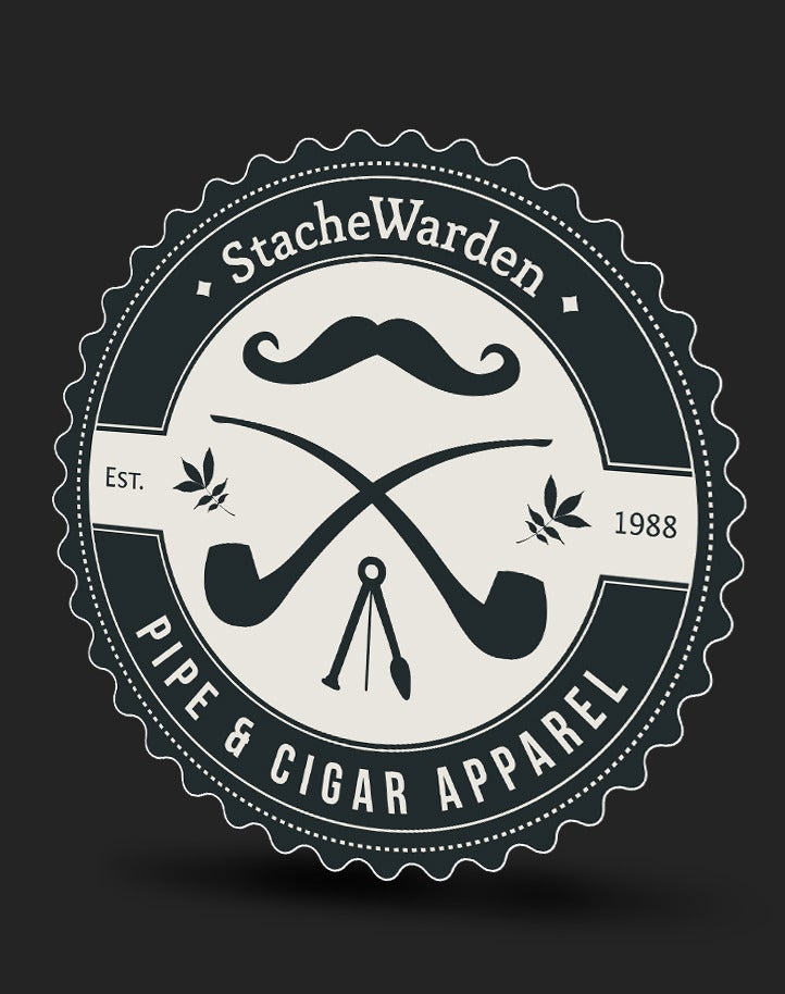 Image of StacheWarden Logo | Stickers