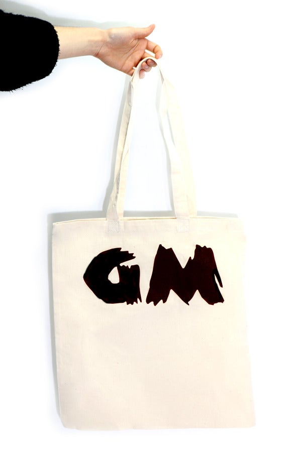 Image of GM Tote Bag (Black)