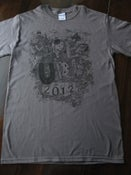 Image of Euro Tour Tee - Gray