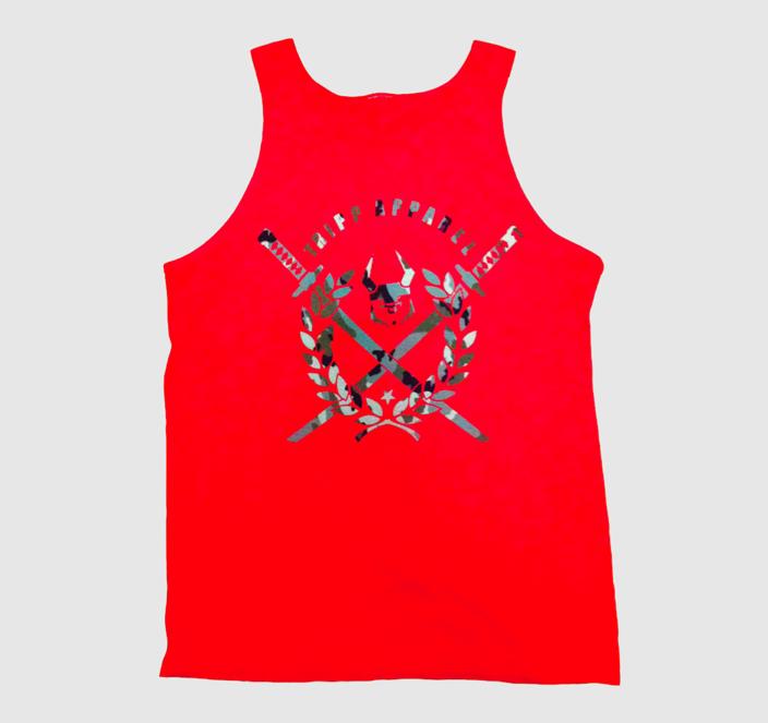 Image of Loyalty - Camo Red (Tanktop)