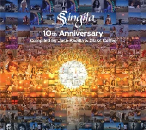 Image of V/A - Singita Miracle Beach 10th Anniversary Compiled By Jose Padilla & Glass Coffee
